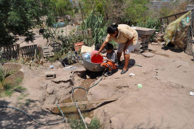Detectan pobreza extrema en vecinos de la periferia de Matamoros