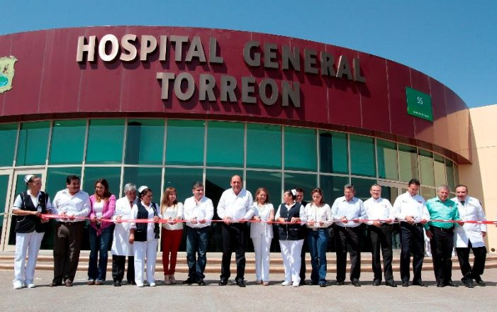 Inaugura Gobernador Rubén Moreira Valdez Hospital General
