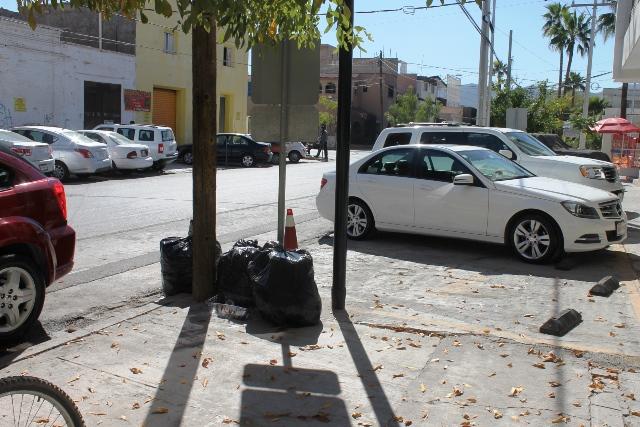Hay problemas de recolección de la basura en el centro de Torreón