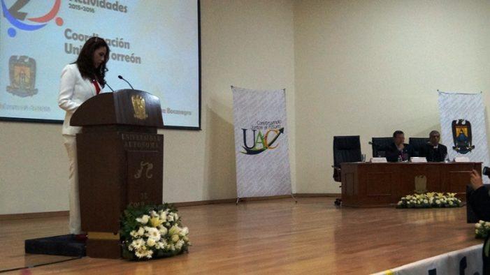 Lorena Medina Bocanegra, rinde su segundo informe de actividades de Coordinadora de la UA de C
