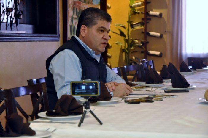 "Protegeré a la industria acerera de Coahuila: Riquelme; ""ahora  le toca a Monclova y su gente"""
