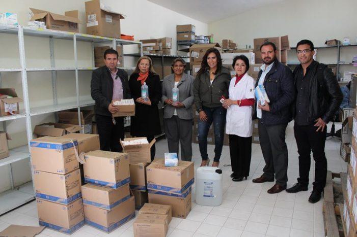 Entrega alcalde donativo en especie al hospital general