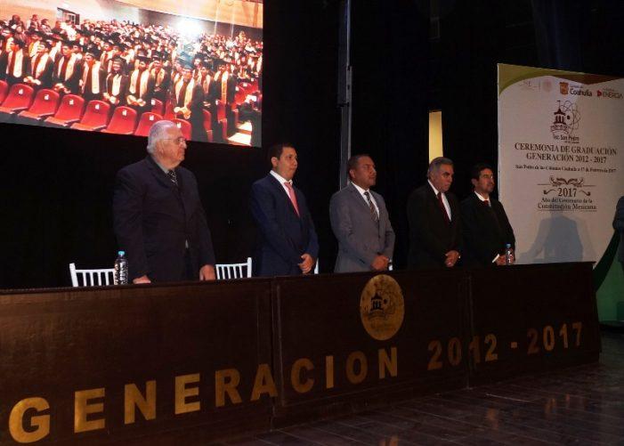 Se gradúan 102 jóvenes del Instituto Tecnológico de San Pedro
