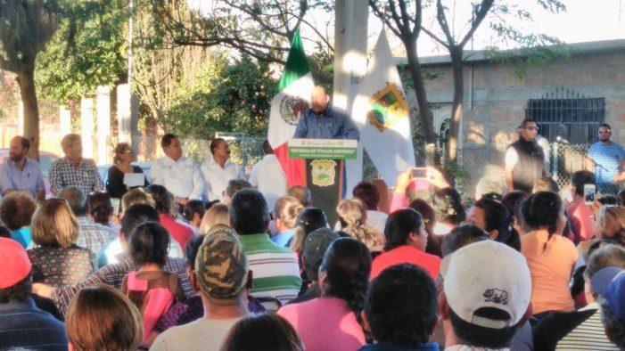 Entrega RMV más de 300 títulos agrarios a habitantes de Santa Ana del Pilar