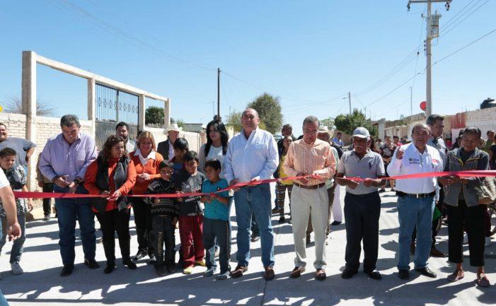 Gobernador pone en marcha obras en San Pedro y Matamoros
