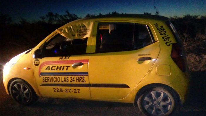 Encuentran muerto a taxista en Matamoros