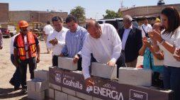 Primera piedra de la nueva Presidencia Municipal en Madero
