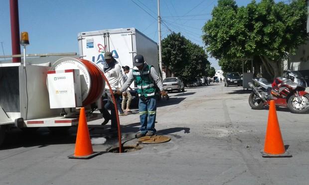Sancionarán por descargas indebidas a la red de drenaje