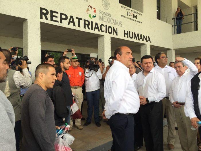 Inicia programa de repatriación a connacionales en Piedras Negras