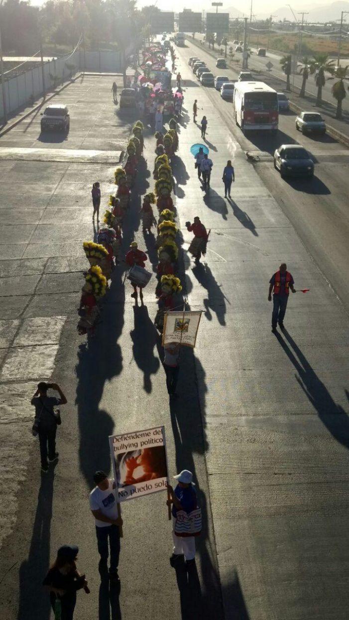 Marcharon para detener el aborto en Torreón