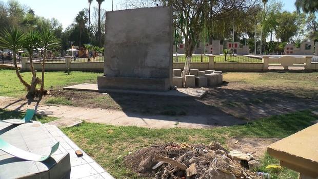 """En """"stop"""" memorial para desaparecidos en la Alameda"""