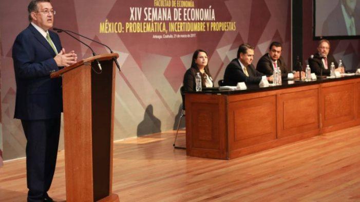 Inicia semana de economía México en la Universidad Autónoma de Coahuila