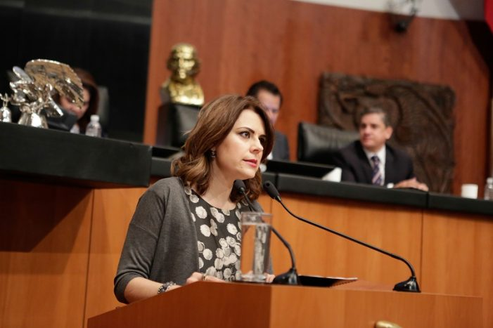 México solidario con el pueblo venezolano: Senadora Hilda Flores
