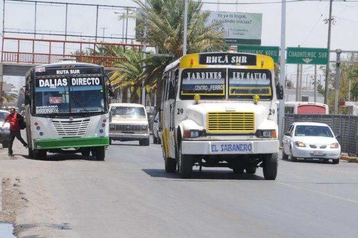 Sin aplicarse nuevo reglamento de autotransporte
