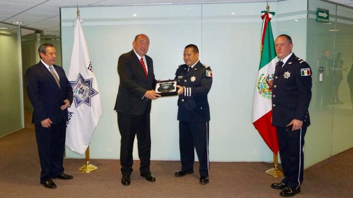 Firma el gobernador Rubén Moreira convenio con la Policía Federal