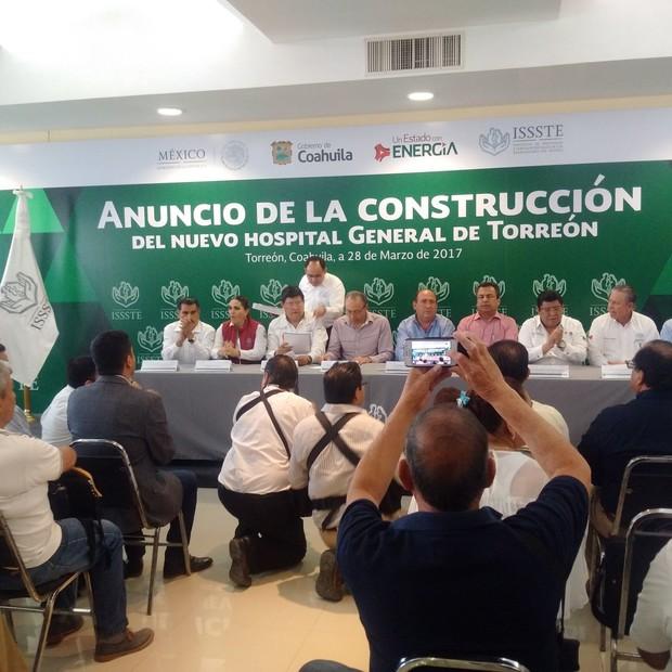 Sí llegará un nuevo hospital del ISSSTE a Torreón
