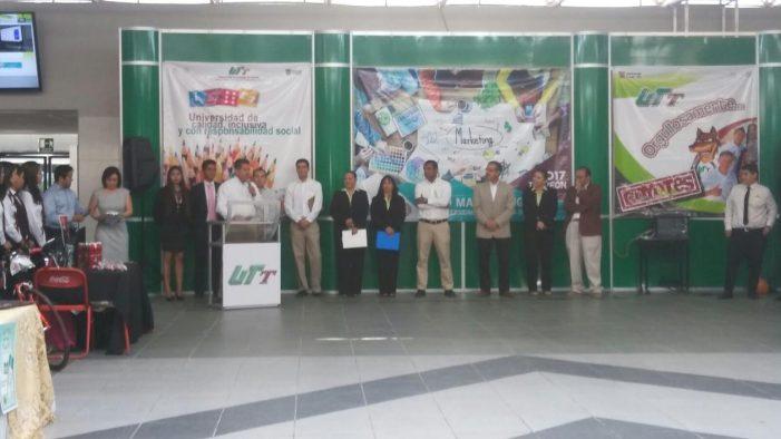 UTT impulsa proyectos de jóvenes emprendedores en Expo Marketing 2017