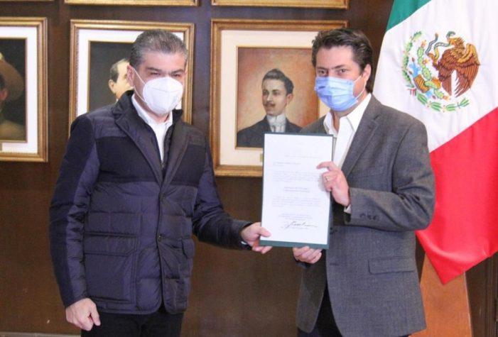 Entregan nombramientos a nuevos funcionarios: Gobierno de Coahuila