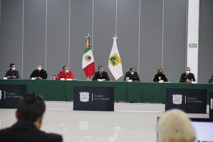 Exhorta Gobernador a los coahuilenses a 'no bajar la guardia'