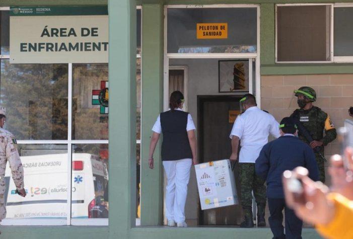 Recibe Coahuila el segundo lote de vacunas contra el covid
