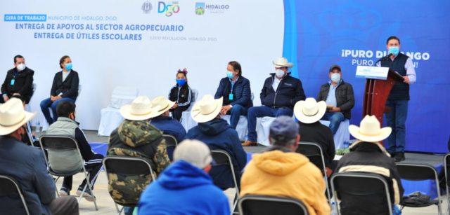 Seguro catastrófico llegará a 10 mil pequeños productores: Aispuro.