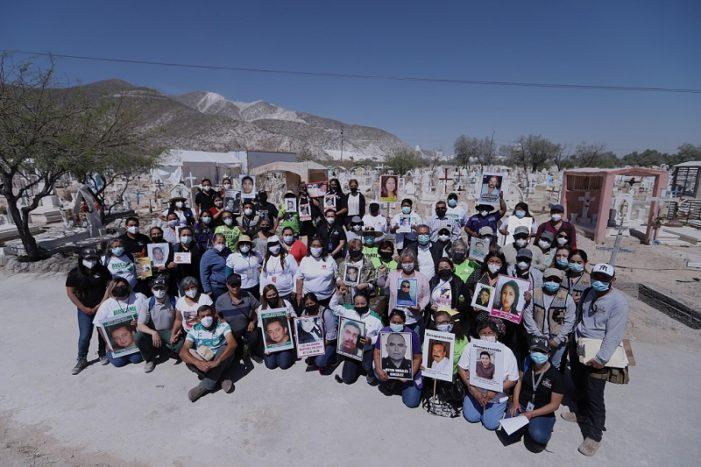 Concluye primera exhumación con enfoque masivo en Torreón
