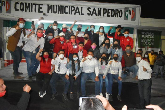 Arranca campaña David Ruiz Mejía