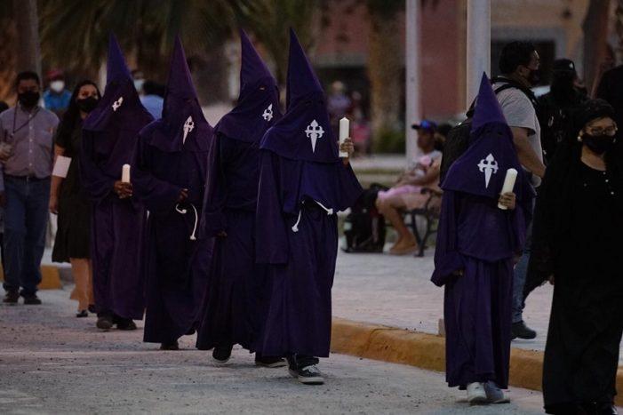 Se realiza en Viesca procesión del silencio en formato virtual